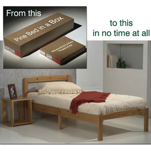 Single Wooden Bed Frames from £89