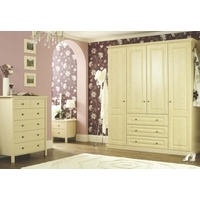 Cooke & Lewis Traditional Maple Style 3-Piece Bedroom Furniture Set