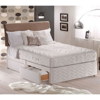 Sealy, Memory Support, 4FT Sml Double Divan Bed