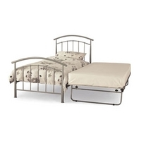 145 Serene Neptune 3ft Single Metal Guest Bed Frame Only