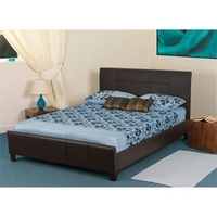 Sweet Dreams, Juno, 5FT Kingsize Faux Leather Bedstead