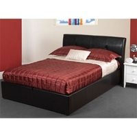 Sweet Dreams, Monroe, 5FT Kingsize Faux Leather Bedstead