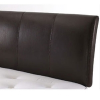 Dreamworks Beds, Capri, 4FT 6 Double Leather Headboard